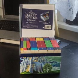 Литература на иностранных языках - Полное собрание книг о Гарри Поттере Дж. К. Роулинг на английском языке, 0