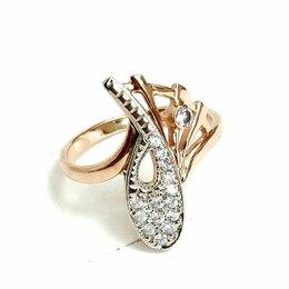 Кольца и перстни - Золотое кольцо 17,5 размер, 0