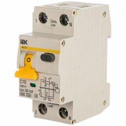 Концевые, позиционные и шарнирные выключатели - АВДТ 32 C10 - Автоматический Выключатель Дифф. тока ИЭК, 0