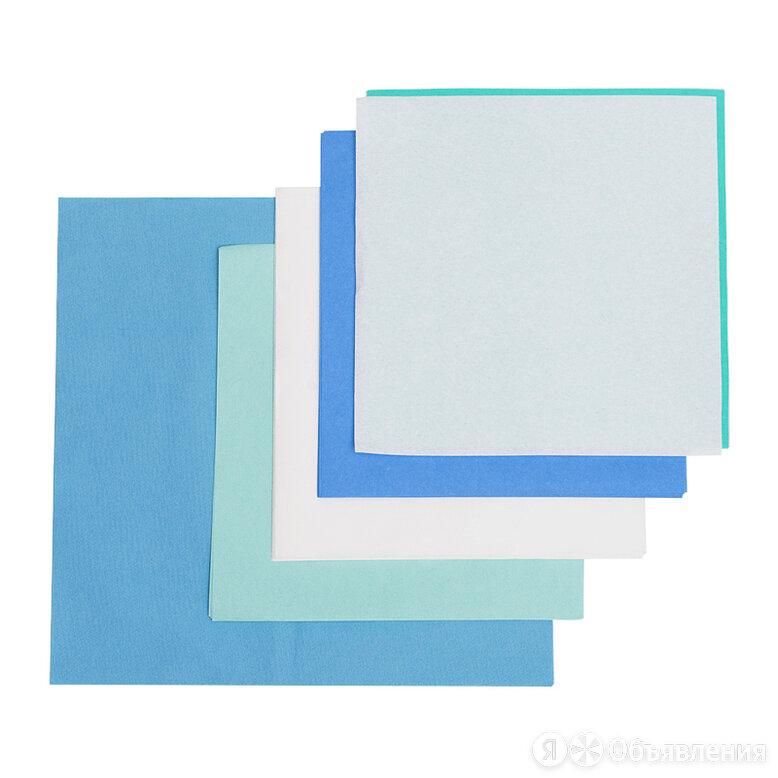 Бумага крепированная для стерилизации стандартная Винар СтериТ УМК-60 800х800... по цене 5583₽ - Промышленная химия и полимерные материалы, фото 0