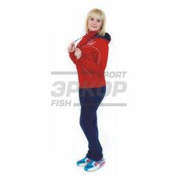 Спортивные костюмы - Костюм спортивный Marko А жен капюшон трикотаж хлопок красно-синий (х5), 0