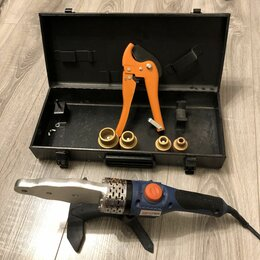 Аппараты для сварки пластиковых труб - Комплект сварочного оборудования dexter, 1500 вт, 0
