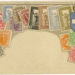 Конверты и почтовые карточки - Греция открытое письмо, 0
