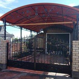 Заборы, ворота и элементы - ворота кованые., 0