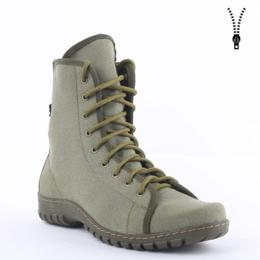 Ботинки - Берцы текстильные на молнии Триумф (с 39 по 45й размеры) ДФ-0073/2WQ, 0
