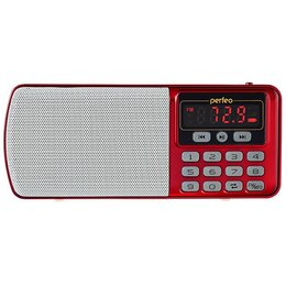 Радиоприемники - Радиоприемник Perfeo Егерь FM+ 70-108МГц/ MP3/ питание USB или BL5C/ красн/ (..., 0