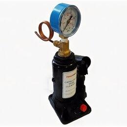Инструменты для прочистки труб - Пресс для прочистки капилляров с манометром, 0