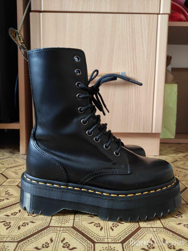 Черные ботинки Dr Martens Jadon Hi по цене 11500₽ - Ботинки, фото 0
