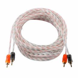 Товары для электромонтажа - Межблочный кабель DL AUDIO Barracuda RCA 5M, 0