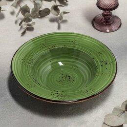 Одноразовая посуда - Тарелка для пасты 'Бризе', d25 см, 400 мл, 0