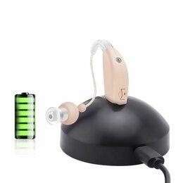 Устройства, приборы и аксессуары для здоровья - Слуховой аппарат. Работает от аккумулятора., 0