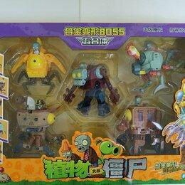 Роботы и трансформеры - Набор Зомби против растений 5в1 Трансформеры, 0