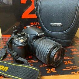 Фотоаппараты - Зеркальный фотоаппарат Nikon D3100 KIT 55-200 , 0