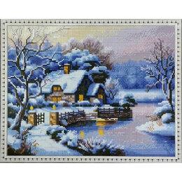 Дизайн, изготовление и реставрация товаров - Зимний вечер Артикул : CK 1729, 0