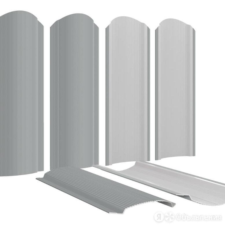 Штакетник металлический Фигурный 110мм RAL7004 Серый по цене 158₽ - Заборы, ворота и элементы, фото 0