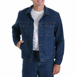 Куртки - Куртка джинсовая Wrangler Western (54-56 размер), 0