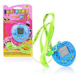 Ретро-консоли и электронные игры - Электронная игра на батарейках (тамагочи), на листе JY-3071A, цвет микс, 0