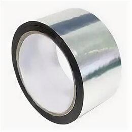 Изоляционные материалы - Скотч, лента клеящая алюминиевая, «ХозЛента Момент усиленная», (48мм х 25м), 0
