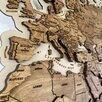 Карта мира на стену, карта мира из дерева  по цене 19500₽ - Гравюры, литографии, карты, фото 1
