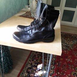 Ботинки - Ботинки кожаные, 0