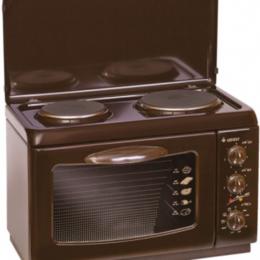 Духовые шкафы - Мини-печь с конфорками Гефест ЭПНс Д420 К19, 0