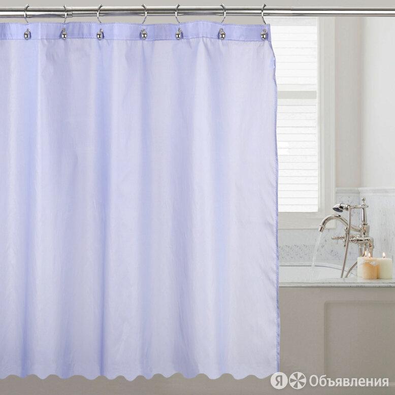 Штора для ванной R. Pla Monofilamento Azul MFO2024AZ 200х240 голубая по цене 8900₽ - Шторы, фото 0