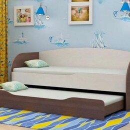 Кроватки - Детская кровать с ящиком, 0