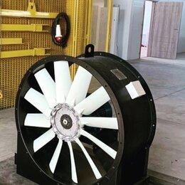Промышленное климатическое оборудование - Вентилятор осевой о/о AXF-400-A-0,55/2-GP BhB system., 0