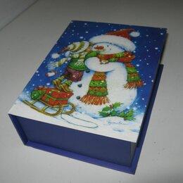 Подарочная упаковка -  Подарочная Новогодняя коробка , 0