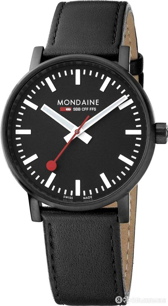 Наручные часы Mondaine MSE.40121.LB по цене 23100₽ - Наручные часы, фото 0