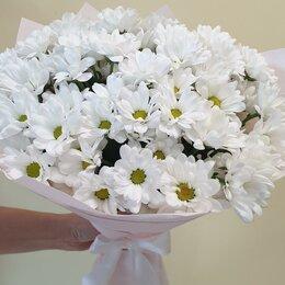 Цветы, букеты, композиции - Букет из 11 ромашковых хризантем, 0