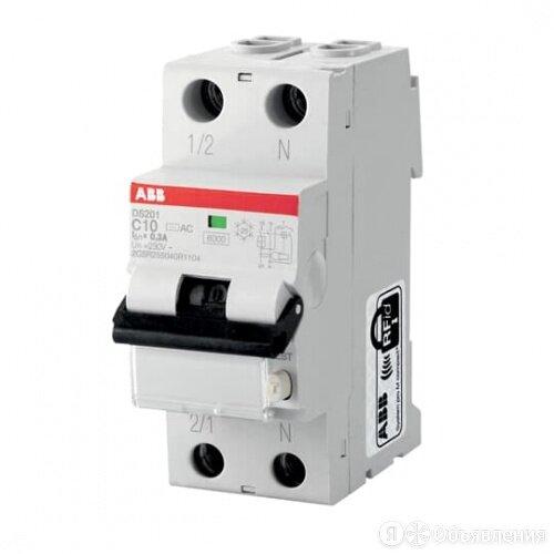 Дифференциальный автомат ABB АВДТ DS201 C25A C30 по цене 6034₽ - Защитная автоматика, фото 0