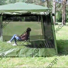 Тенты - Палатка шатер с сеткой и шторками lanyu ly-1628d, 320x320x245см, 0