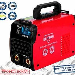 Сварочные аппараты - Сварочный инвертор Elitech АИС 160Д (Е1703.011.00) , 0
