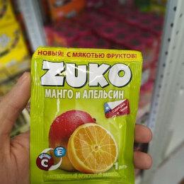 Ингредиенты для приготовления напитков - Растворимый напиток Zuko со вкусом манго и апельсина (Чили) 25 гр., 0