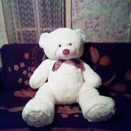 Мягкие игрушки - Мягкий белый медведь , 0