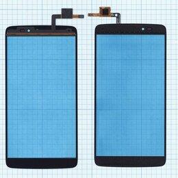 Дисплеи и тачскрины - Тачскрин для Alcatel One Touch Idol 3 6045Y черное, 0