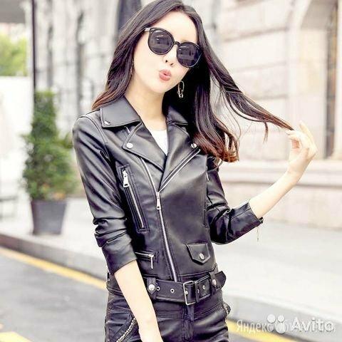 Женская куртка кожзам по цене 3500₽ - Куртки, фото 0