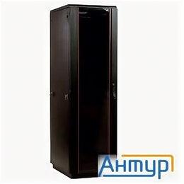 Прочее сетевое оборудование - ЦМО! Шкаф телекоммуникационный напольный 42u (600x600) дверь стекло, цвет чёр..., 0