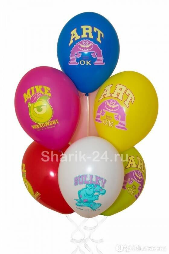 """Воздушные шары """"Монстры"""". по цене 87₽ - Украшения и бутафория, фото 0"""