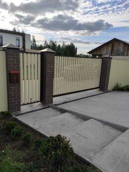 Заборы и ворота - автоматические откатные ворота, 0