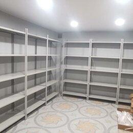 Мебель для учреждений - Стеллаж металлический / Архивный Сборный Полочный, 0