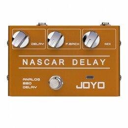 Аксессуары и комплектующие - Педаль эффектов для электрогитары Joyo R-10 Nascar Delay, 0