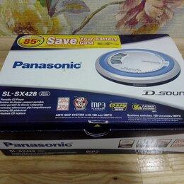 CD-проигрыватели - Супер cd mp3 плеер Panasonic SL-SX428 Японский, 0