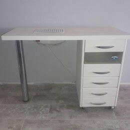 Мебель - Маникюрный стол со встроенными вытяжкой и лампой, 0
