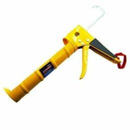 Клеевые пистолеты - Пистолет для герметика с усиленным корпусом ХР-1845 желтый 1/пятьдесят, 0