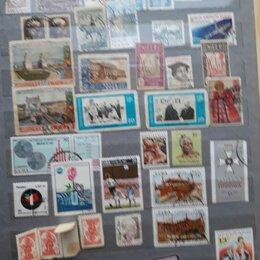Марки - Коллекция марок настоящих филателистов в альбоме, 0