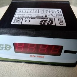 Цифро-аналоговые преобразователи - Универсальный цифровой индикатор CD 1800, 0