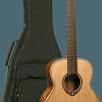 Акустическая тревел-гитара LAG Guitars TRAVEL-RC по цене 33690₽ - Акустические и классические гитары, фото 0