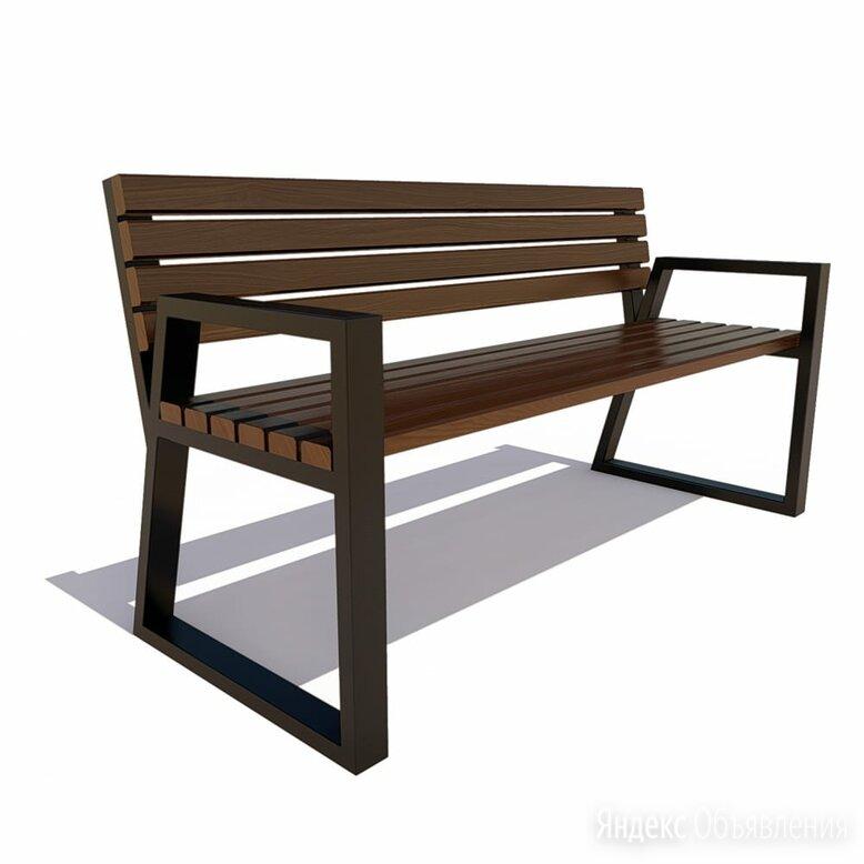 Уличная скамейка 7 скамеек Кёльн 77059 по цене 17316₽ - Скамейки, фото 0